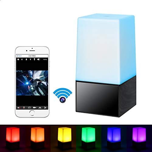 HD 1080P Wifi Wireless SPY Camera Mini Lamp Holder Type Covert Nanny video DVR