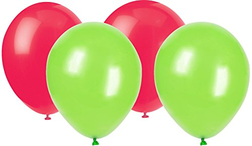 Holiday Color Balloons Lime Green