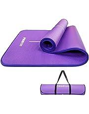 PROIRON Pilates mat Oefening yogamat Extra dikke schuimmat Gym Fitness matten voor Workout Home Gym Outdoor gebruik met draagriem -1800 mm x 610 mm x 15 mm