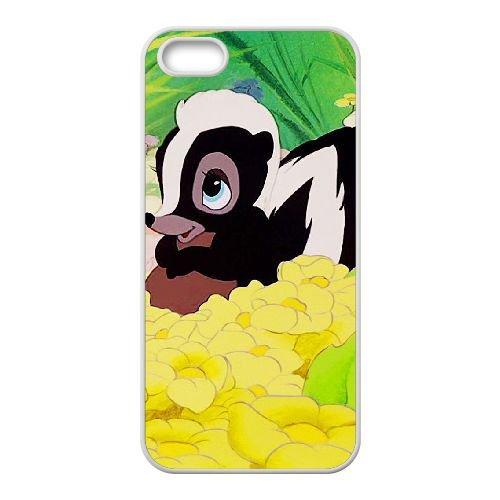 Bambi coque iPhone 4 4S Housse Blanc téléphone portable couverture de cas coque EBDOBCKCO10581