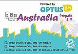 Australia's 28 Days on The Large-Capacity Network 15GB + Free 40 Australian Dollars Call(Optus Network) (15GB / 28Days)