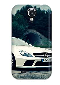 Unique Design Galaxy S4 Durable Tpu Case Cover Mercedes