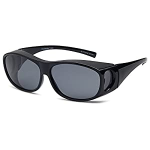 ClipShades Polarized Fit Over Sunglasses for Prescription Glasses