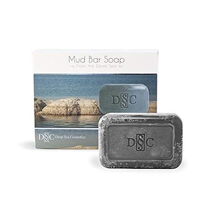 Deep Sea Cosmetics | Dead Sea Mud Soap - Nourishing | Natural Bar Soap with Dead Sea Minerals and Minerals