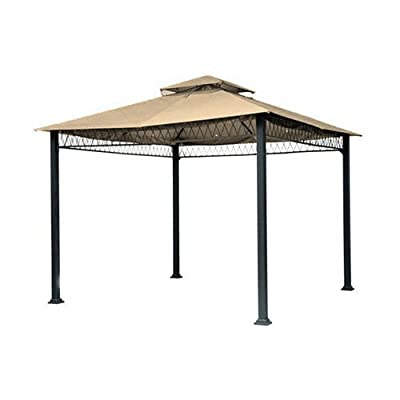 Garden Winds Havenbury Gazebo Replacement Canopy Top Cover - RipLock 500 : Garden & Outdoor