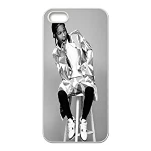 ASAP Rocky Diy Case for iPhone 5,5S ,Customized Hard case Fashion Style MK885648