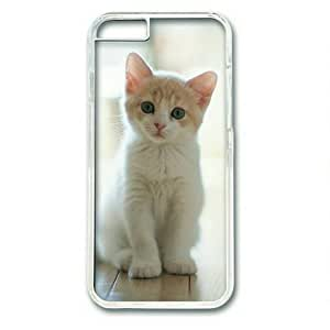 Lilyshouse Baby Cat 001 Hard Shell with Transparent Edges Cover Case for iphone 4 4s