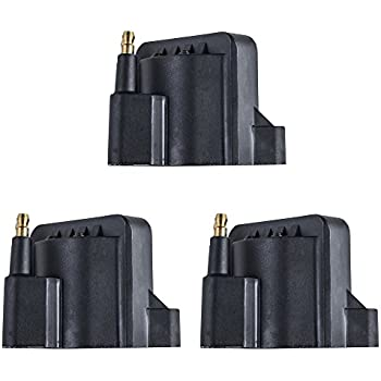 Set of 3 Ignition Coil for Buick Cadillac Chevrolet Oldsmobile Pontiac fits DR-39 / D-555 / DR39 / D555