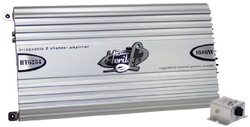 Lanzar RBHTG254 Heritage 1600 Watt 2 Channel Mosfet Amplifier
