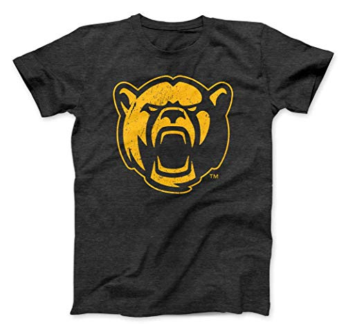 (Nudge Printing NCAA Collegiate Premium Grunge Baylor University New Logo T-Shirt from (Baylor University, XL))