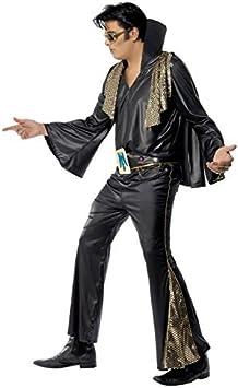Fancy Dress Four Less Elvis Presley Disfraz de adulto de los años ...