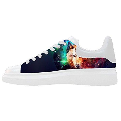 Le Scarpe E Lupo Shoes Scarpe Custom Canvas Luna Women's xgORnqBw