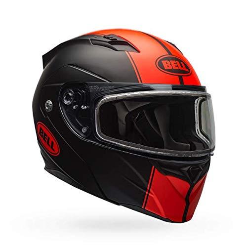 Bell Revolver Evo Dual Shield Snow Helmet (Matte Rally Orange, X-Large)