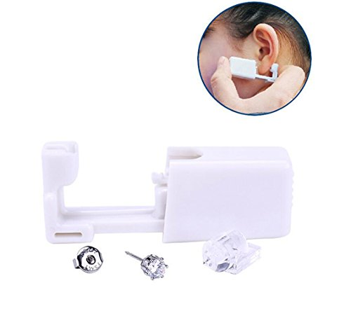 Used, 2PCS White Disposable Safety Ear Body Nose Lip Navel for sale  Delivered anywhere in Canada