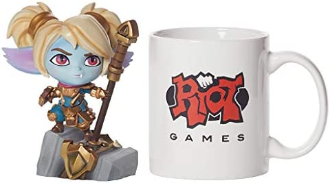 For League Of Legends Game figuren, LOL Series Figures/Keeper Of The Hammer Statue, Exquisite en koel Resin modellen, Perfect collecties for Desktop stage- of vitrines