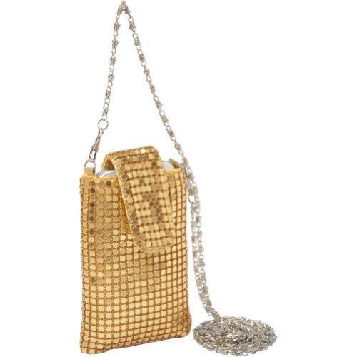 j-furmani-metal-mesh-cell-phone-bag-gold