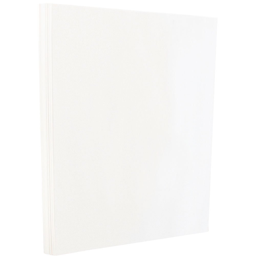JAM Paper 8 1/2 x 11 Glossy Paper - 32 lb 2-Sided White - 100/Pack