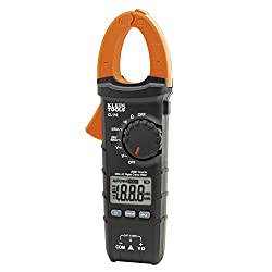 Digital Clamp Meter, Ac Auto-ranging 400 Amp Klein Tools Cl110