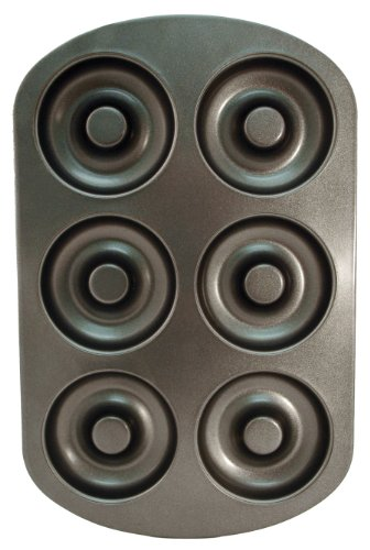 Entemann's ENT19022 6 Count Donut Pan (Cast Iron Chicken Egg Holder compare prices)