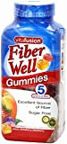 Vitafusion Fiber Well Gummies Excellent Source of Fiber Sugar Free: 220 Gummies For Sale