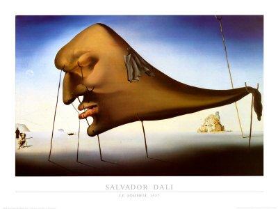 Lámina El sueño, de Salvador Dalí, Tamaño: 80 ...