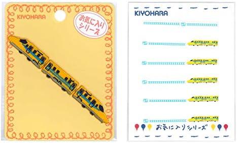 KIYOHARA お気に入り イエロートレイン 連続ワッペン ネームラベルSS セット MOW728S