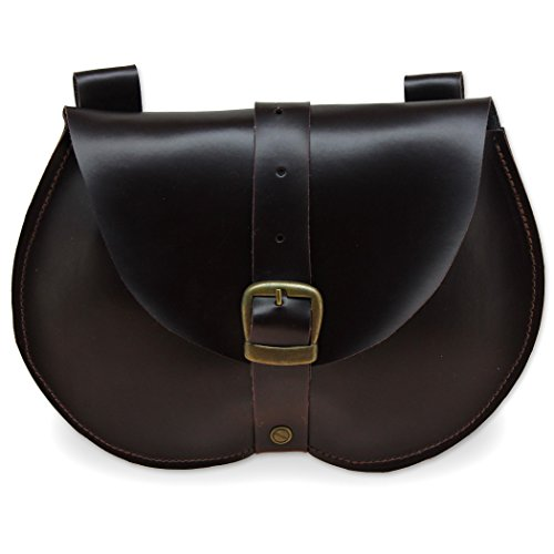leather belt pouch medieval - 7
