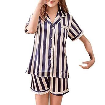 Loolik Ropa de Dormir, Conjunto de Pijamas Sueltos con Impresión ...