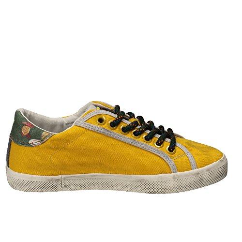 D.A.T.E. (DATE) Sneakers Bambina 32 EU Giallo Tessuto