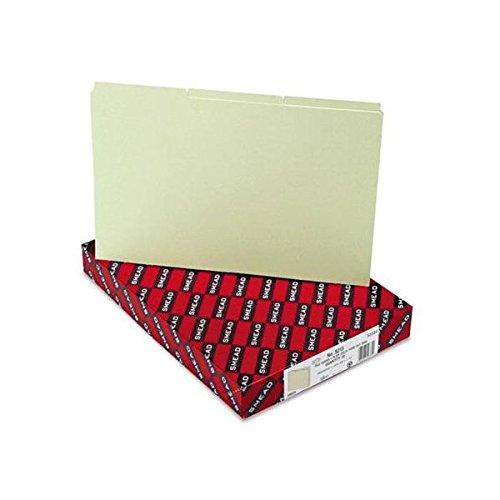 Pressboard Tab Guides,1/3 Self Tab, Lgl,50/BX,Gray Green, Sold as 1 Box 1/3 Cut Pressboard Self Tab