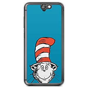 Loud Universe Dr Seuss Face Cute HTC A9 Case Hat Red HTC A9 Cover with Transparent Edges