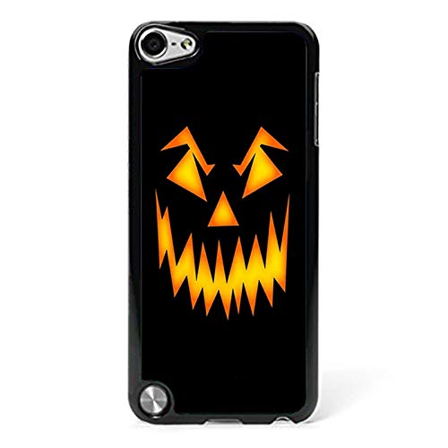 Halloween Scary Pumpkin Face Phone Case Compatible iPod Touch 5th 6th Phone Shell Design ()