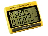 Athlete Technologies Boxing training round interval timer. Perfect for Boxing MMA Interval Tabata Training Kettlebells