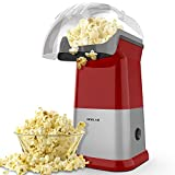 OPOLAR Fast Hot Air Popcorn Popper Machine, No Oil Popcorn Maker with Measuring