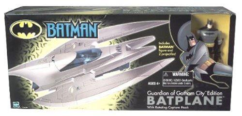 Batman Shadowcast Batplane with Rotating Claw