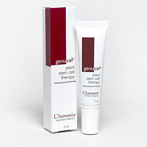 Genucel Plant Stem Cell Therapy for Eye Bags & Eye Puffiness, Most Effective Cream for Under and Around Eyes. Powerful Eye Bag Treatment for Men and Women featuring Eyeseryl ()