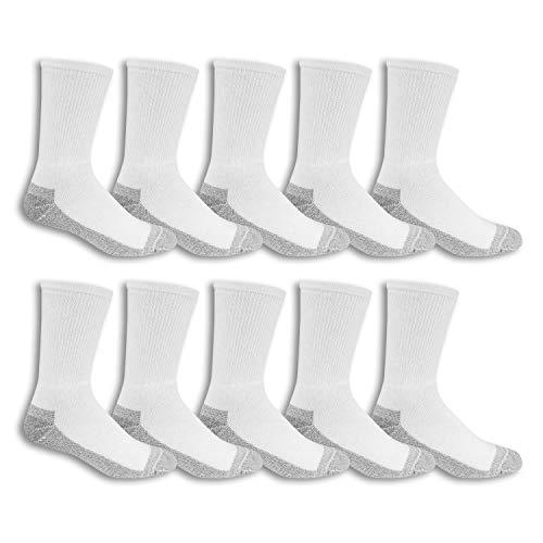 Buy men's white crew socks