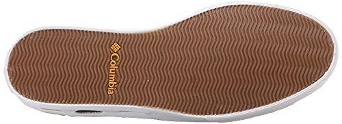 Columbia VULC N VENT CAMP 4 - zapatilla deportiva de cuero hombre gris - Grau (Grill/White 028)