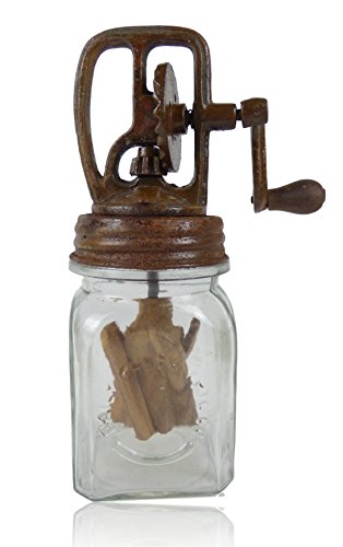 Butter Churn Dazey Style Rustic Country Primitive Decor (Medium)