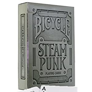 Bicycle Steampunk Silver Edition
