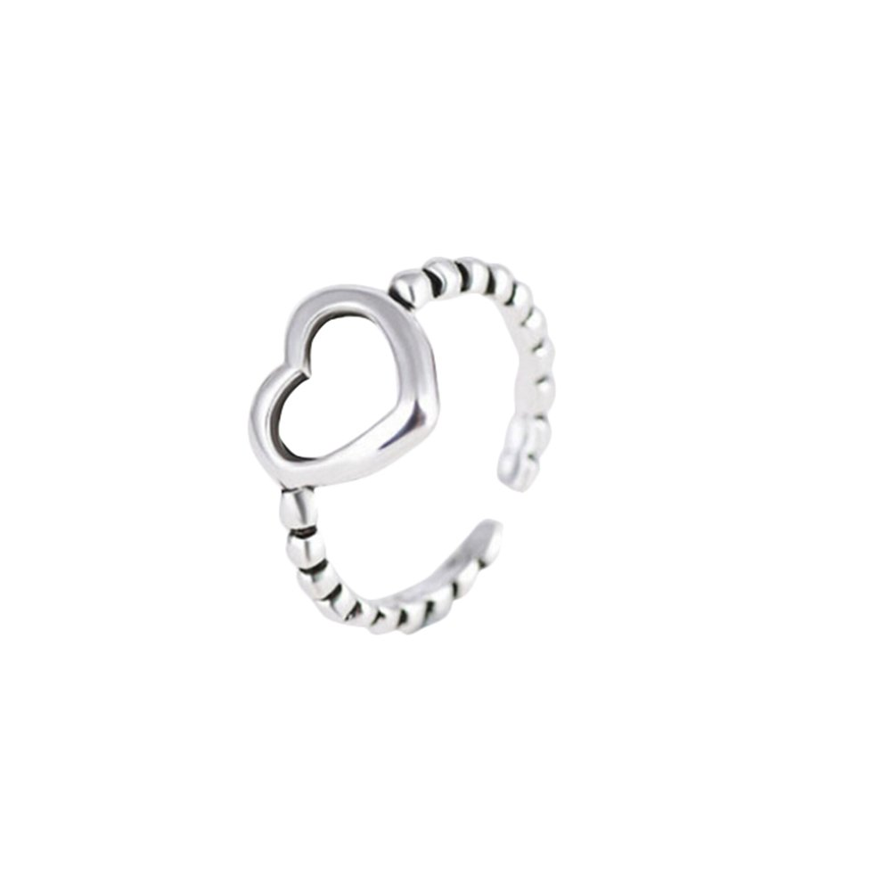 Treestar 1PCS Fashion Happy Twist donna anelli argento scintillante Art Rings Lady wedding gioielli per ragazze decorazione regalo anelli