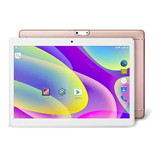 Yuntab K98 9.6 Inch A7 MT6580,1.3Ghz Quad Core Google Android 5.1 Tablet PC,1G+16G,HD 800x1280,Dual Camera,4500MAh Battery,WiFi,GPS,G-Sensor,Support SD/MMC/TF Card (Rosegold)