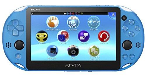 Price comparison product image Sony Playstation Vita - PS Vita - New Slim Model - PCH-2006 (Aqua Blue)