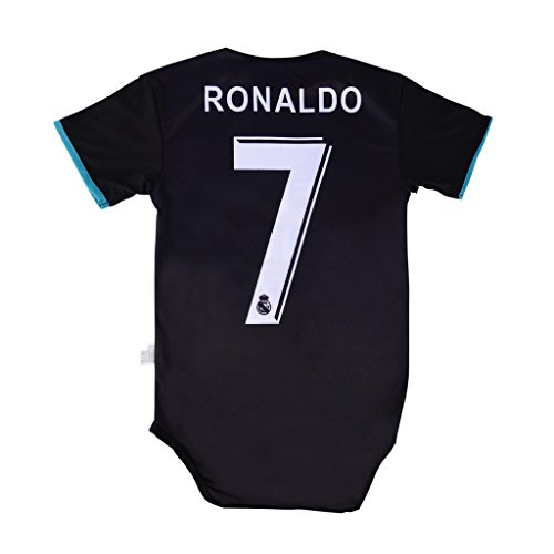 World Cup Baby Cristiano Ronaldo  7 Real Madrid Soccer Jersey Baby Infant  and Toddler Onesie dfa9d6d93