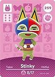 Stinky - Nintendo Animal Crossing Happy Home Designer Amiibo Card - 259