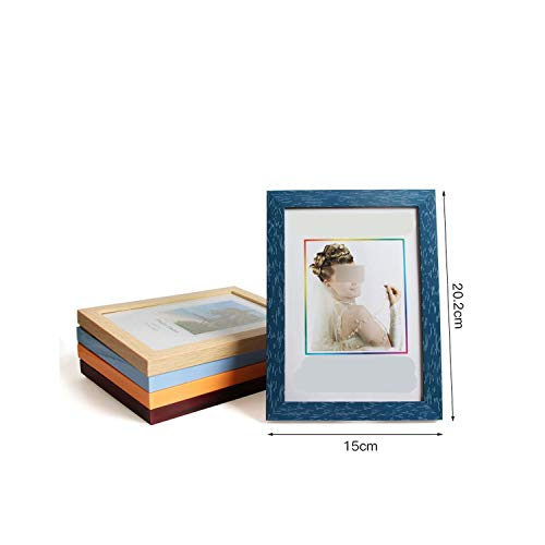 Photo Frame Wood Card Backplane Stand Multiple Colors Suitable Display Holder 5