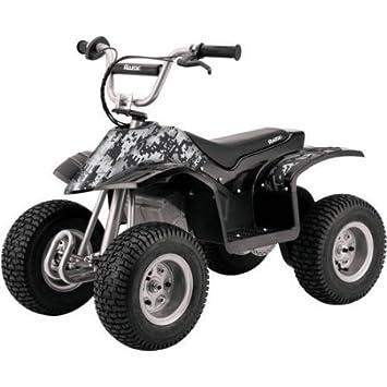 Amazon.com: Razor Dirt Quad eléctrico Ride On Gray Camo: Baby