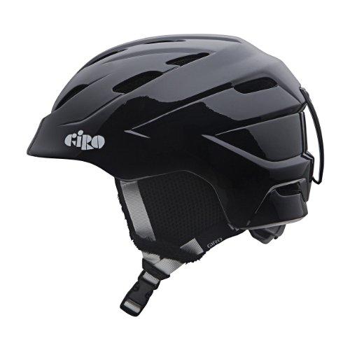 Giro Nine.10 Jr Helmet - Giro Junior Nine.10 Snow Helmet (Black, Medium)