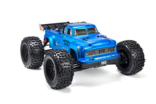 ARRMA Notorious 1/8 Scale BLX Brushless 4WD RC Stunt Truck RTR (6S LiPo Battery Required) with 2.4Ghz STX2 Radio…