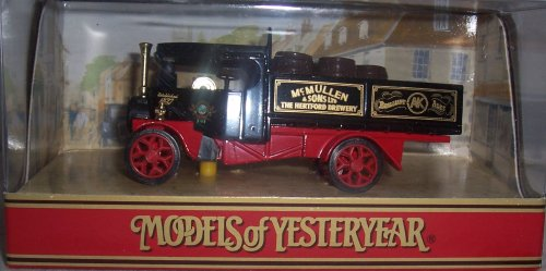 Matchbox Models of Yesteryear Y-27B 1922 Foden Steam Wagon McMullen & Sons: The Hertford Brewery 1:72 Scale Diecast ()